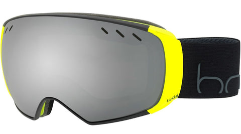 Bolle - Virtuose Black Neon Snow Goggles / Black Chrome + Lemon Gun Lenses