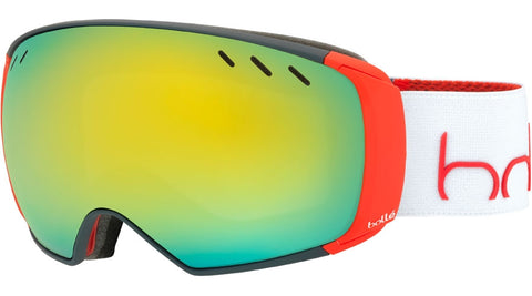 Bolle - Virtuose Grey Red Snow Goggles / Sunshine + Lemon Gun Lenses