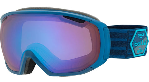 Bolle - Tsar Matte Blue Patch Snow Goggles / Aurora Lenses