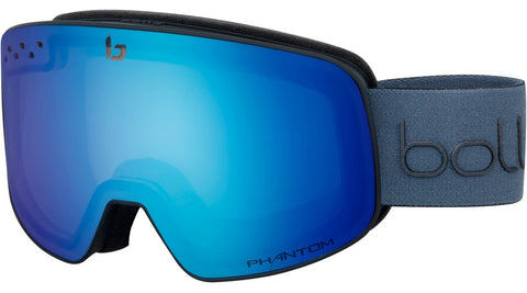 Bolle - Nevada Matte Black Diagonal Snow Goggles / Phantom Lenses