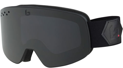 Bolle - Nevada Matte Black Corp Snow Goggles / Grey Lenses