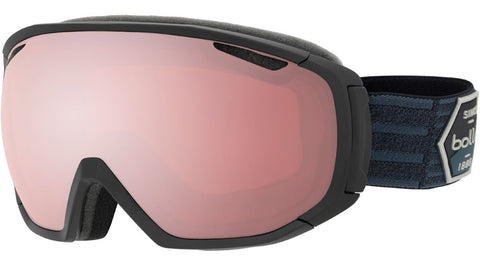 Bolle - Tsar Matte Black Patch Snow Goggles / Vermillon Gun Lenses