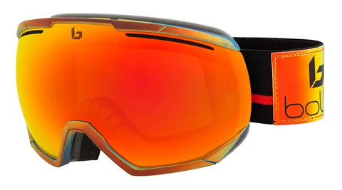 Bolle - Northstar Shiny Gold Polychrome Snow Goggles / Sunrise Lenses