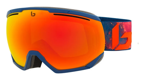 Bolle - Northstar Matte Blue Hawai Snow Goggles / Sunrise Lenses