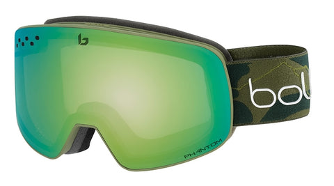 Bolle - Nevada David Wise Signature Series Snow Goggles / Phantom Green Emerald Lenses