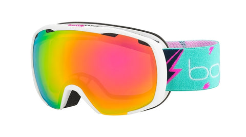 Bolle - Royal Matte White Flash Snow Goggles / Rose Gold Lenses