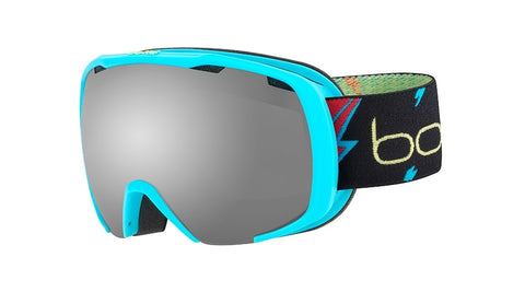 Bolle - Royal Matte Blue Flash Snow Goggles / Black Chrome Lenses
