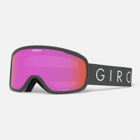 Giro - Moxie Titanium Core Light Snow Goggles / Amber Pink + Yellow Lenses