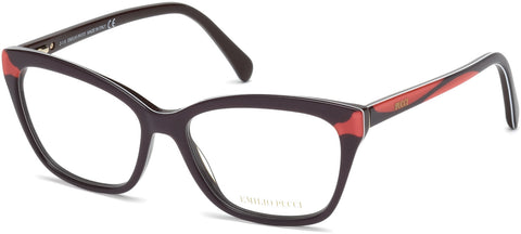 Emilio Pucci - EP5049 Dark Brown Eyeglasses / Demo Lenses