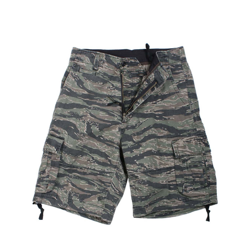 Rothco - Vintage Infantry Tiger Stripe Camo Utility Shorts