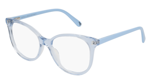 Stella McCartney - SK0046O Light Blue Eyeglasses / Demo Lenses