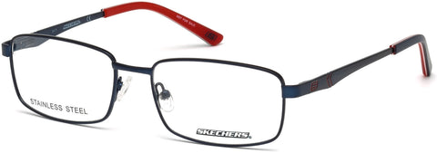 Skechers - SE3211 Matte Blue Eyeglasses / Demo Lenses