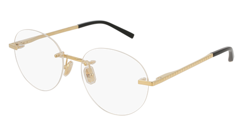Boucheron - BC0056O Gold Eyeglasses / Demo Lenses
