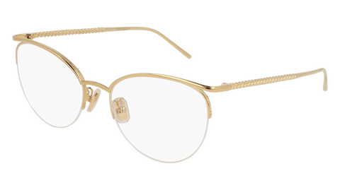 Boucheron - BC0059O Gold Eyeglasses / Demo Lenses
