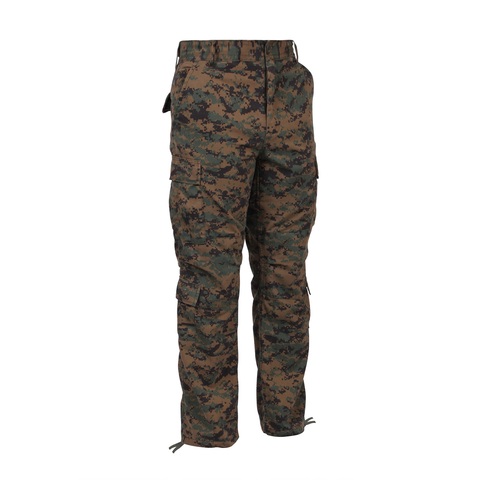 Rothco - Vintage Paratrooper Woodland Digital Camo Fatigue Pants