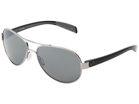 Native - Haskill Chrome/Iron Sunglasses, Silver Reflex Lenses