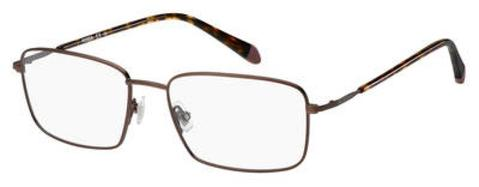 Fossil - Fos 7016 52mm Matte Brown Eyeglasses / Demo Lenses