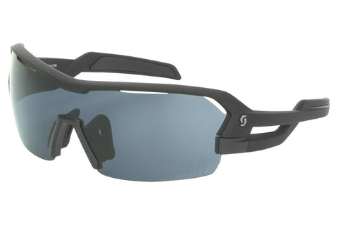 Scott - Spur Black Matte Sunglasses, Grey + Clear Lenses