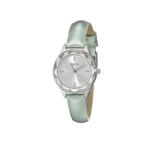 Breda 2435 Silver / Green Watch