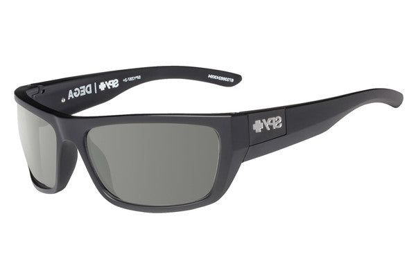 Spy - Dega Matte Black Sunglasses, Happy Grey Green Lenses