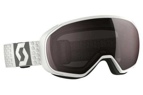 Scott - FIX White Goggles, Amplifier Silver Chrome Lenses