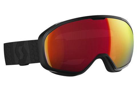 Scott - FIX Black Goggles, Amplifier Red Chrome Lenses