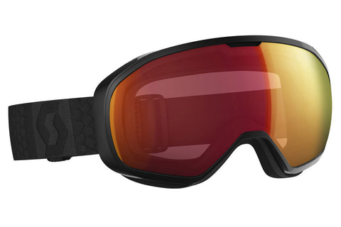Scott - FIX Black Goggles, Illuminator Red Chrome Lenses