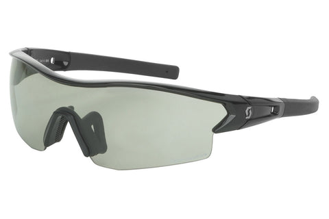 Scott - Leap LS Black Glossy Sunglasses, Grey Light Sensitive + Clear Lenses