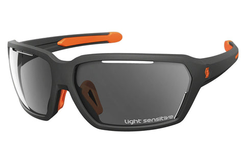Scott - Vector LS Grey / Neon Orange Matte Sunglasses, Grey Light Sensitive Lenses