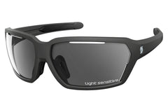 Scott - Vector LS Black Matte Sunglasses, Grey Light Sensitive Lenses