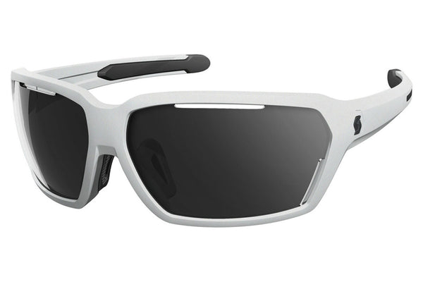 Scott - Vector White / Black Matte Sunglasses, Grey Lenses