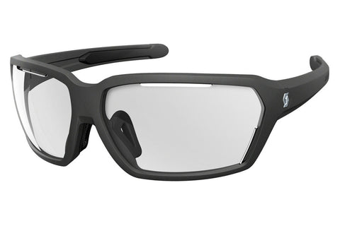Scott - Vector Black Matte Sunglasses, Clear Lenses