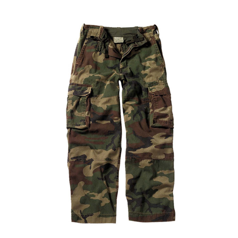 Rothco - Kids Vintage Paratrooper Woodland Camo Fatigue Pants