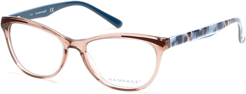 Rampage - RA0205 Shiny Dark Brown Eyeglasses / Demo Lenses
