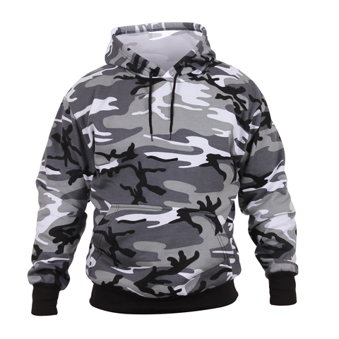 Rothco - Hooded Pullover City Camo Sweatshirt