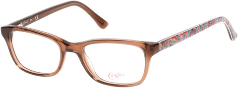 Candie's - CA0504 51mm Light Brown Eyeglasses / Demo Lenses