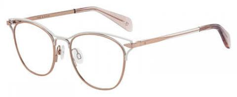 Rag & Bone - Rnb 3019 Gold Cream Eyeglasses / Demo Lenses
