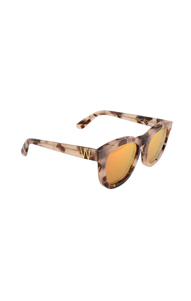 Wildfox - Classic Fox Deluxe Antique Leaves Sunglasses