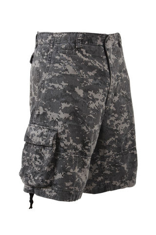 Rothco - Vintage Infantry Subdued Urban Digital Camo Utility Shorts