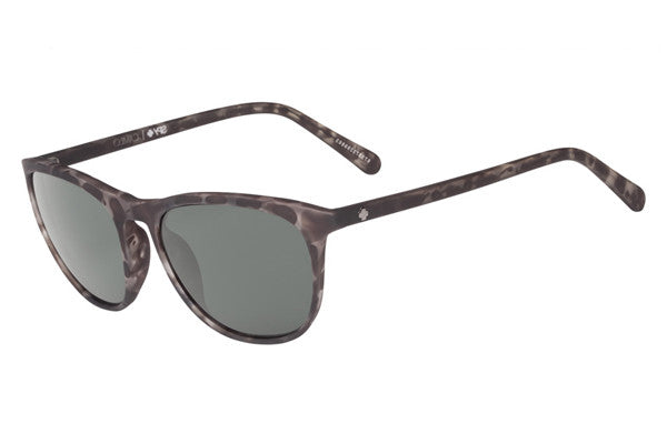 Spy - Cameo Soft Matte Smoke Tort Sunglasses, Happy Grey Green Lenses