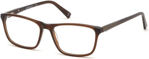 Skechers - SE3231 Shiny Dark Brown Eyeglasses / Demo Lenses