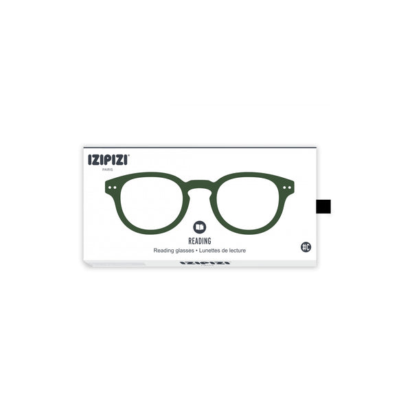 Izipizi - #C Green Crystal Reader Eyeglasses / +1.50 Lenses