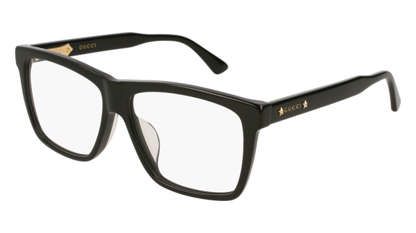 Gucci - GG0268OA Black Eyeglasses / Demo Lenses