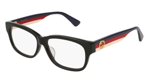 Gucci - GG0278OA Multi Color Black Eyeglasses / Demo Lenses