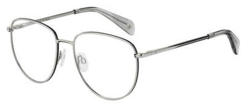 Rag & Bone - Rnb 7017 Palladium Eyeglasses / Demo Lenses