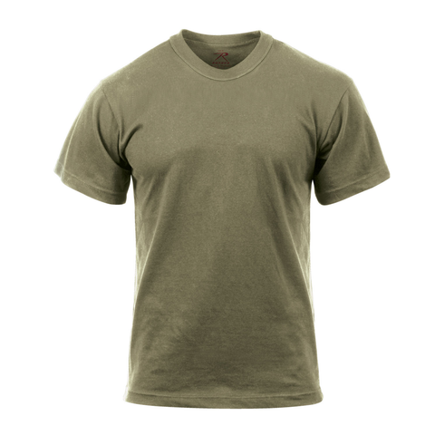 Rothco - 100% Cotton Solid Color AR 670-1 Coyote Brown T-shirt