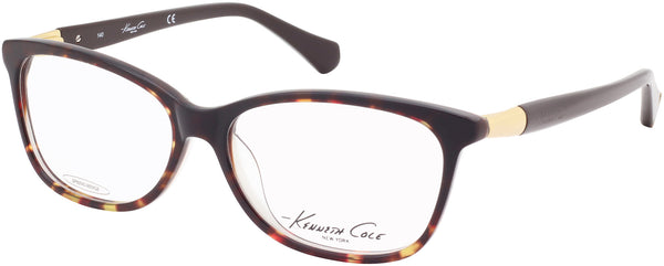 2e300c9ade Kenneth Cole - KC0212 Colored Havana Eyeglasses   Demo Lenses – New ...