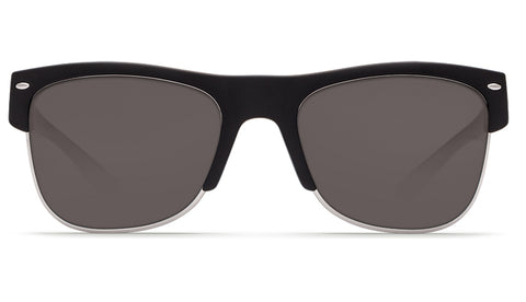 Costa - Pawley's  Matte Black Sunglasses / Gray Polarized Plastic Lenses