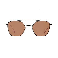 Spektre - Dolce Vita Black Sunglasses / Rose Gold Mirror Lenses