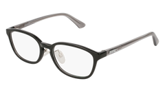Puma - PJ0017OJ Junior Black + Grey Eyeglasses / Demo Lenses